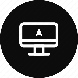 computer, gps, location, map, navigation, pin icon