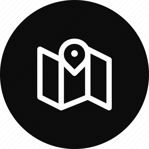 Location, map, navigation, pin, target icon - Download on Iconfinder