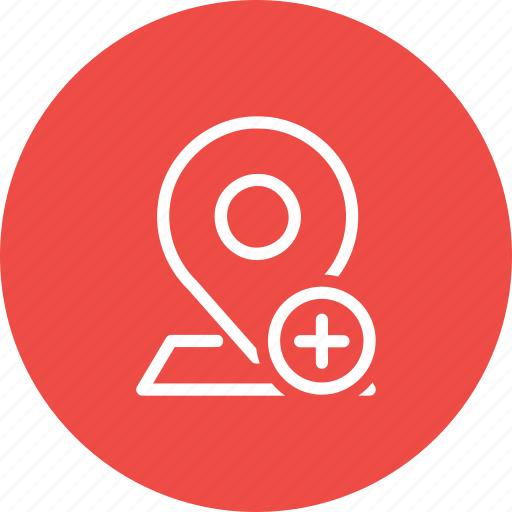 Add, insert, location, map, marker, navigation, pin icon - Download on Iconfinder