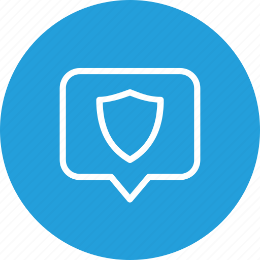 Location, map, navigation, place, security, shield, tag icon - Download on Iconfinder
