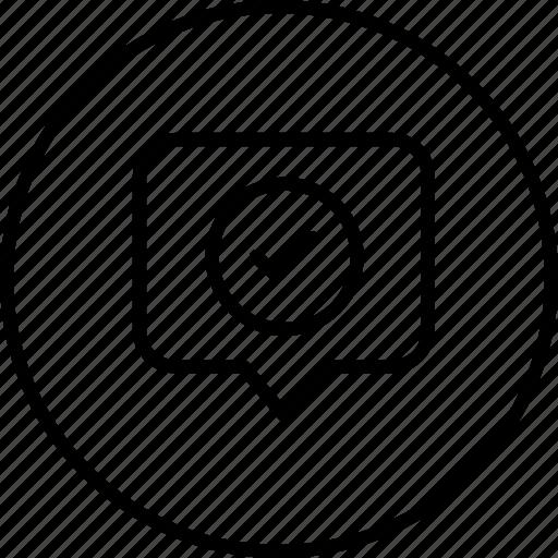 location, map, navigation, right, tag, true, verify icon
