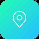 map, pin, location, marker, navigation, gps icon