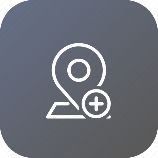 add, insert, location, map, marker, navigation, pin icon