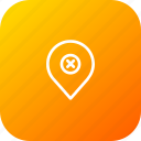 map, false, pin, geo, wrong, location, navigation icon