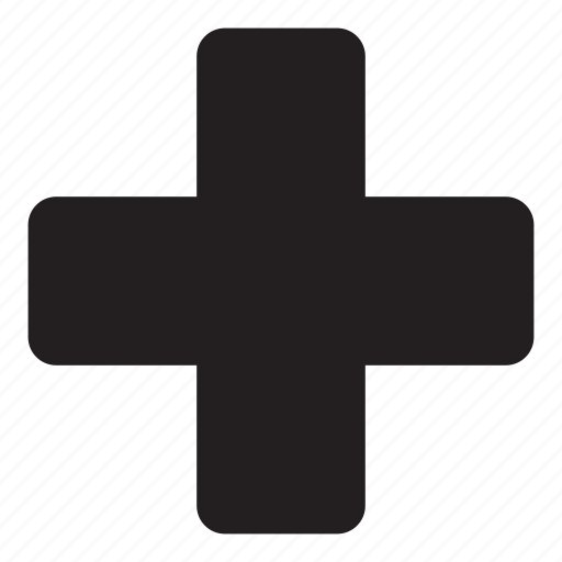 cross, doctor, emergency, hospital, locations, plus, red cross icon