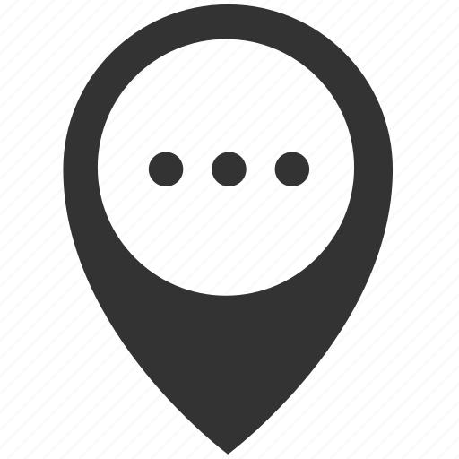location, more icon