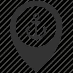 Seaport Icon Isometric Stock Vector - Image: 50283160