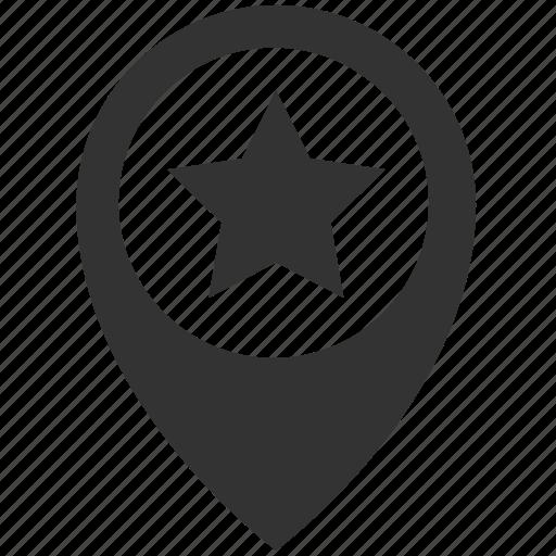 location, special icon