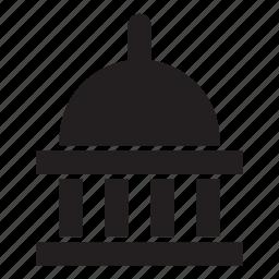 italy, locations, rome, san pietro, temple, washington, white house icon