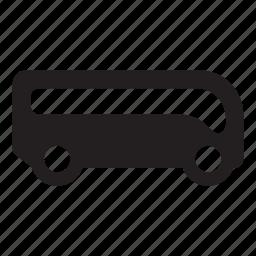 autobus, bus, coach, minibus, pullman, transport icon