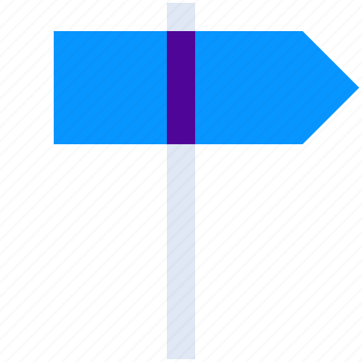 Arrow, direction, right, signpost icon - Download on Iconfinder