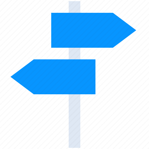 Arrows, country, direction, signpost, street icon - Download on Iconfinder