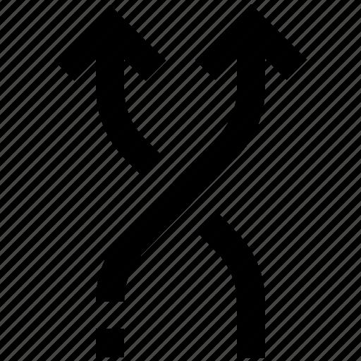 arrows, exchange, media, mix, music, random, shuffle icon