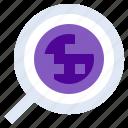 explore, location, map, navigate, search icon