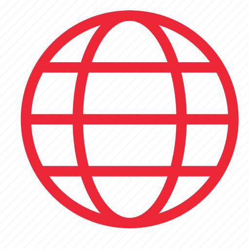 earth, global, globe, outline, planet, ui, world icon