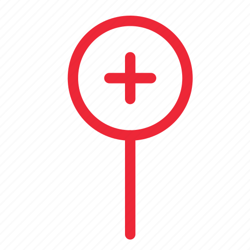 add, gps, location, map, marker, navigation, plus icon