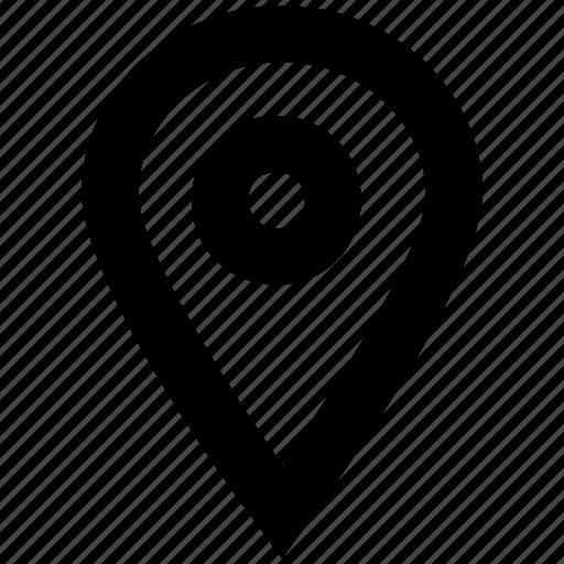 gps, location pin, map pin, navigation icon