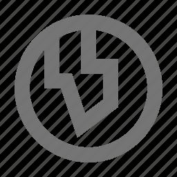 globe, location icon