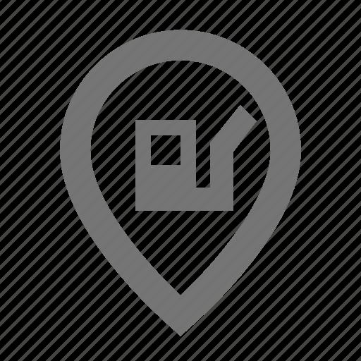 gas, location, pertol, pin, pump icon