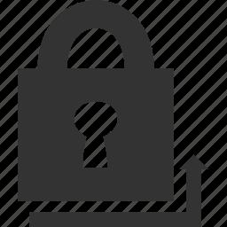 closed, key, lock, safe, secret icon