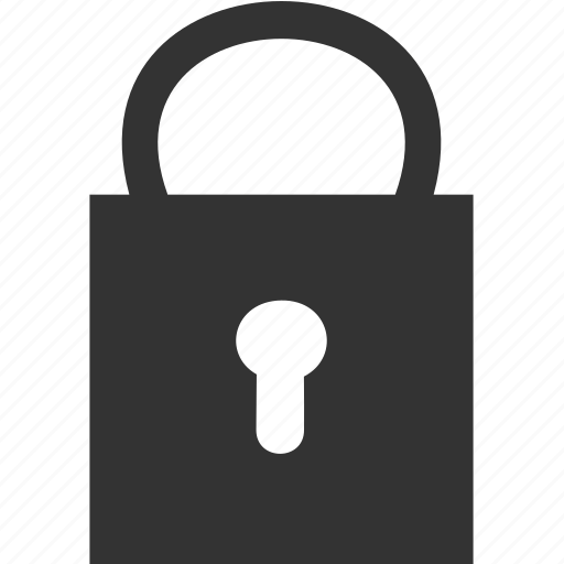 closed, key, lock, safe, secret icon