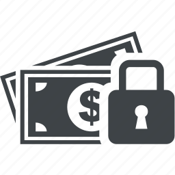 closed, key, lock, money, safe, secure icon