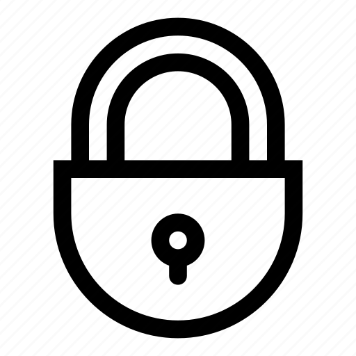 lock, locked, no access, padlock, privacy, protection, security icon