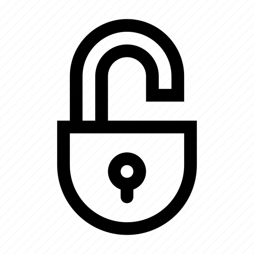 access, key, lock, padlock, protection, unlock, unlocked icon