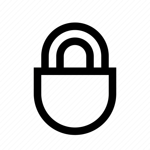 closed, lock, locked, no access, privacy, private, unlock icon