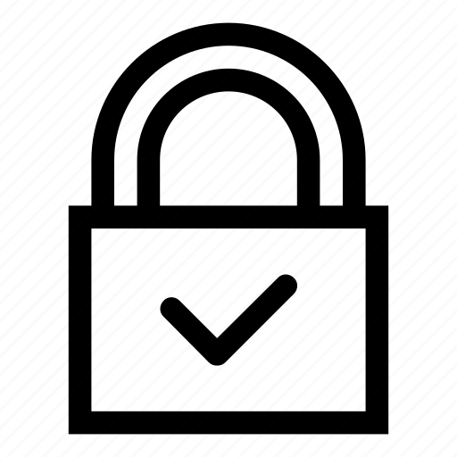 defended, lock, locked, no access, protected, secure, secured icon