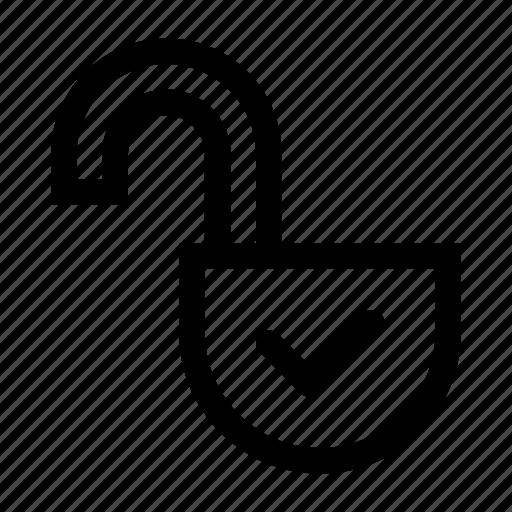 access, lock, open, opened, padlock, unlock, unlocked icon