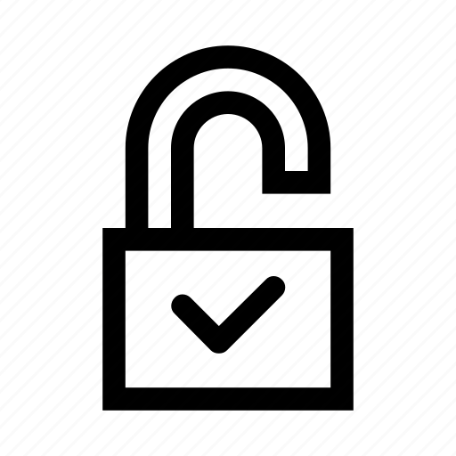 access, lock, open, opened, padlock, unlock, unlocked icon