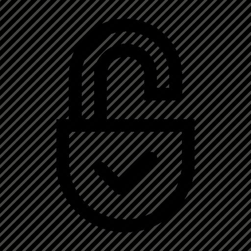 access, lock, open, opened, public, unlock, unlocked icon