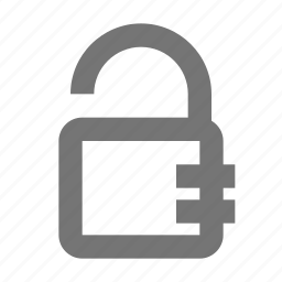 key, lock, open, padlock, protect, safe, secure, unlock icon