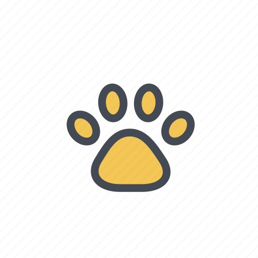 animal, paw, pets, pets allowed, print, vet icon