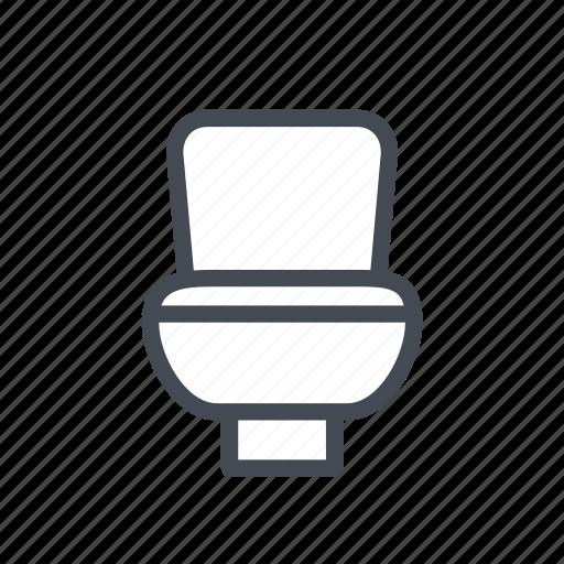 bathroom, hygiene, restroom, toilet icon
