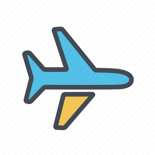 aeroplane, airplane, airport, flight, transport icon