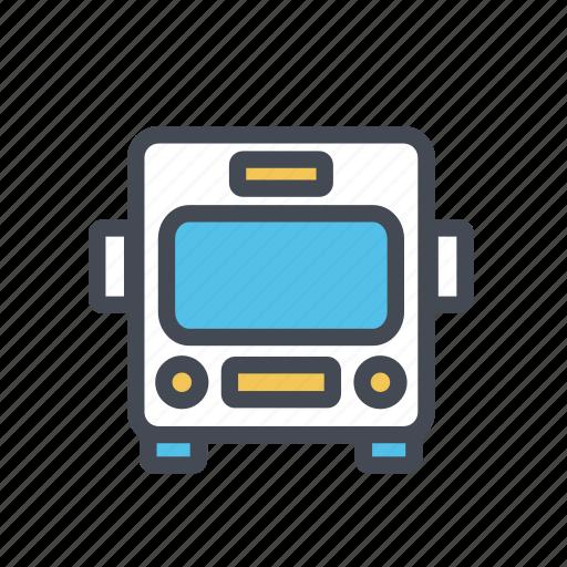 bus, limousine, school bus, transport, transportation, van icon