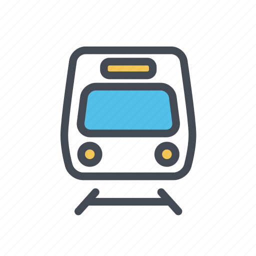 metro, subway, train, transport, transportation, travel, tube icon