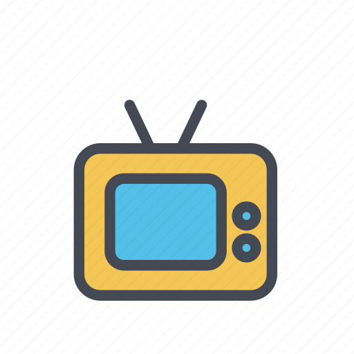 cable, technology, television, tv icon