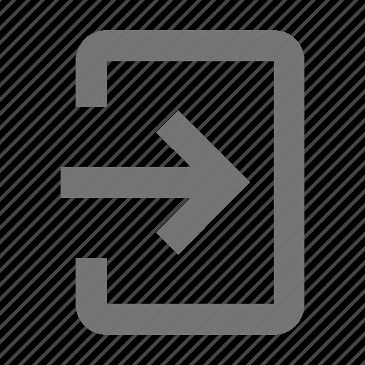 arrow, forward icon