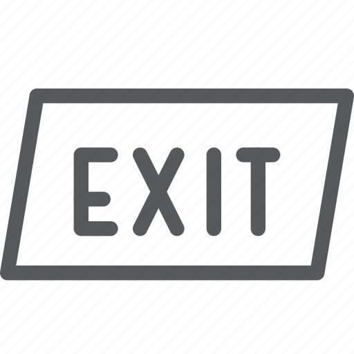close, exit, leave, login, logout, out, sign, square icon