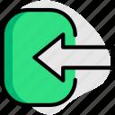 login, arrow, enter, access, input