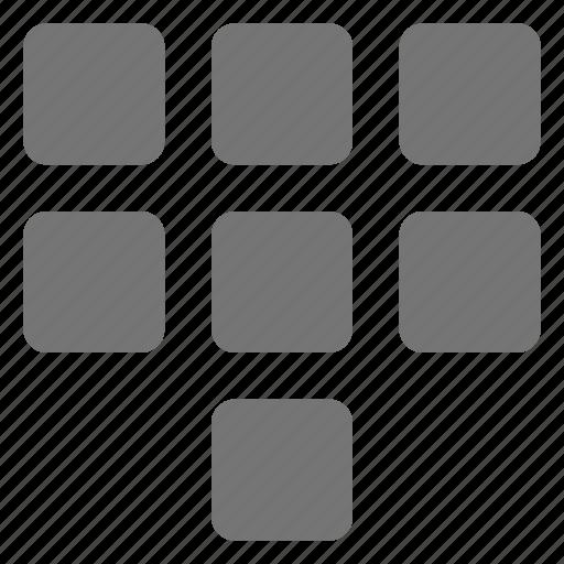 dial, keypad, pad icon