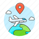 air, cargo, globe, international, location, logistic, plane, service, shipping, supply, transport