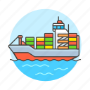 international, container, supply, shipping, logistic, transport, ship, cargo, service