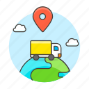 cargo, ground, international, location, logistic, service, shipping, supply, transport, truck