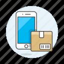 logistic, management, mobile, package, phone, register, shipment, track, tracking