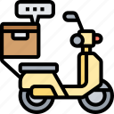 delivery, parcel, service, shipment, package