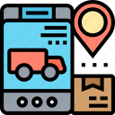 delivery, tracking, destination, arrival, service